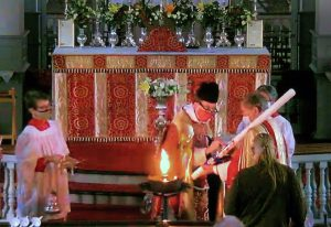 Preparation of the Paschal Candle