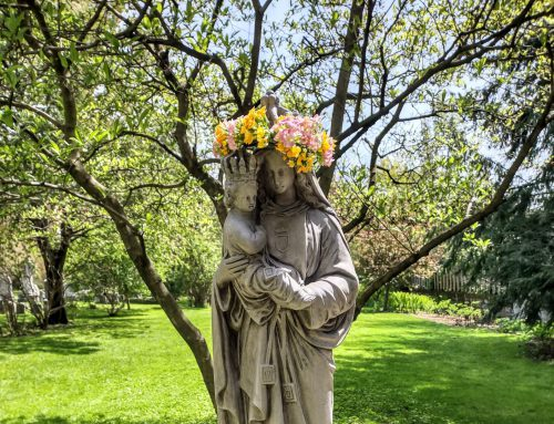 The May Crowning of Mary